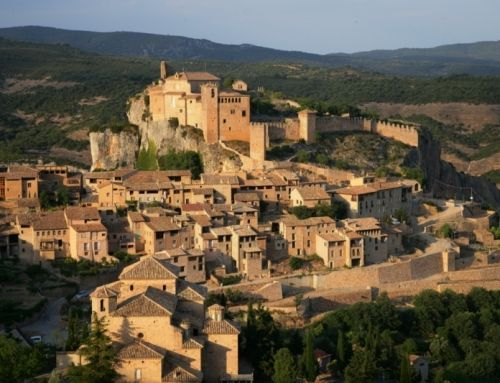 Alquezar, the fortress of the Pre-Pyrenees